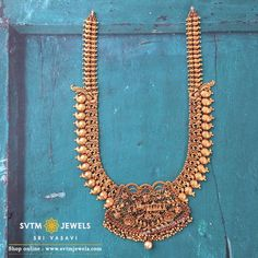 1 Gram Gold Jewellery, Gold Temple Jewellery, Gold Wedding Jewelry, Gold Jewellery Design, Gold Jewelry, Gold Necklace Simple, Necklace Set, Gold Jhumka Earrings, Antique Necklace