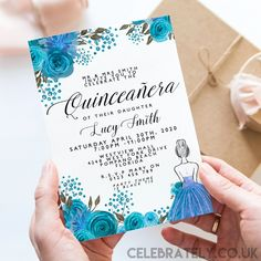 Editable Quinceanera Invitation Download 15th Birthday Dress Glitter Editable Instant Download Printable Corjl Template Mis Quince Anos 21st Birthday Invitations, 18th Birthday Party, Diy Invitations, Digital Invitations, Invites, Invitation Card Design, Invitation Cards, 15 Birthday Dresses, Hot Wheels Party