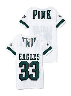 Philadelphia Eagles Sporty Athletic V-neck Jersey