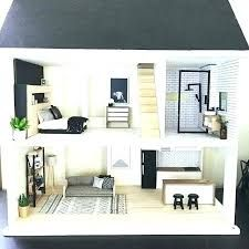 Image Result For Mid Century Modern Dollhouse Kit Modern Dollhouse