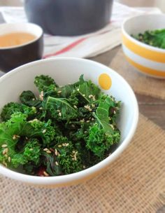Sesame Steamed Greens Easily converted to Medifast approved, use Rice Vinegar instead of balsamic.