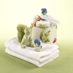 """""""Earl the Squirrel"""" and Forest Friends Woodland Gift Set #squirrel #giftset"""