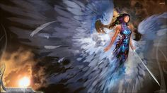 Fantasy Female Angels | ... Warrior Fantasy Angel 1920x1080 | #1234166 #warrior fantasy angel
