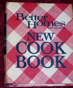 Vintage BHG Cook Book 1970 Better Homes Garden by EclecticVintager