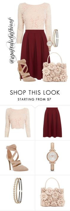 """Apostolic Fashions #1606"" by apostolicfashions ❤ liked on Polyvore featuring Coast, Closet, FOSSIL, Charlotte Russe, Nancy Gonzalez, modestlykay and modestlywhit"
