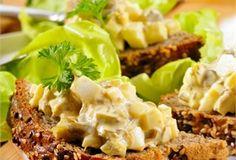 Kanapki z pastą jajeczną/ Sandwiches with egg paste, www.winiary.pl