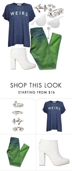 """""""Weird"""" by allamess ❤ liked on Polyvore featuring NLY Trend, Wildfox, Maison Margiela, Kat Maconie and Torre & Tagus"""