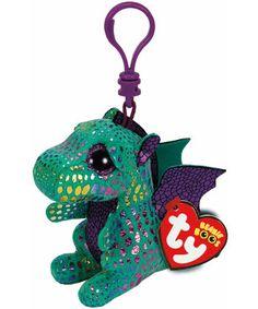 Cinder Dragon Beanie Boo Key Clip - Ty Ty Beanie Boos 17dfd35887ba