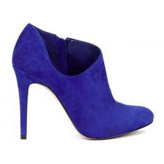 Helena low cut bootie - Crystal Blue