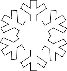 56 Ideas for craft christmas kids snowflake template Snowflake Craft, Christmas Snowflakes, Christmas Deco, Christmas Colors, Kids Christmas, Frozen Snowflake, Simple Snowflake, Snowflake Pattern, Christmas Ornament Template