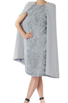 And this luxurious Carla Zampatti sheath from David Jones. | 21 Gorgeous Cape Dresses You Can Buy Online Right Now