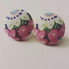 Pink Floral Bouquet Stud Earrings  | Jewelry & Watches, Fashion Jewelry, Earrings | eBay!