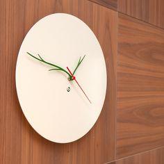 ••• 'leaf wall clock' from basta