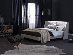 Double bed with removable cover MOOD by Schramm Werkstätten