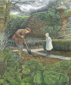 """The Secret Garden"" illustrated by Inga Moore"