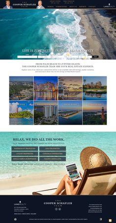 Custom Real Estate Website Design Real Estate Website Design, Palm Beach County, This Is Us, Custom Design, Community, Island, Explore, Learning, Life