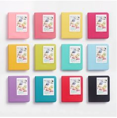 Instax Mini Album Any of these Colors: Indi Pink, Coral Pink, Rose Pink, Lime, Mint, Peacock Green