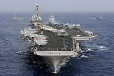 USS Kitty Hawk (CV-63) - Kitty Hawk Class Aircraft Carrier (USA)