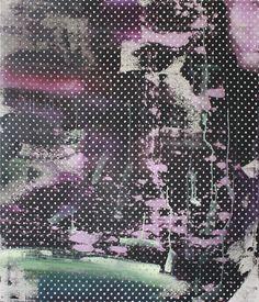 "#ChrisTrueman ""DMS"" 42""x36"" acrylic and acrylic spray paint on canvas, 2014 www.christrueman.com"