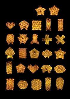 VLightDeco IQ Light Puzzle Pendant Jigsaw Lamp Styles: IQ PUZZLE BASIC SHAPES COLLECTIONS