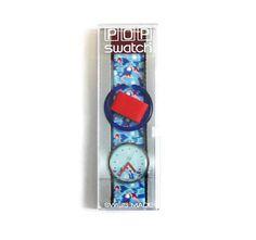 Pop Swatch Watch, Swimmer Swatch Watch, 1990's Swatch Watch, Retro Watch, Swatch Watch