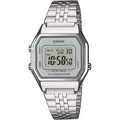 88582881ba7 Casio LA680WEA-7EF horloge Relogio Casio Feminino Prata