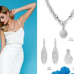 Stunning silver tone necklace & earrings From R95    #jewelry #crystals #fashion #accessory #stylish #jewelrygram #fashionjewelry #trendy ronel.cazabella@yahoo.com Fashion Jewelry, Crystals, Stylish, Earrings, Silver, Accessories, Ear Rings, Stud Earrings, Trendy Fashion Jewelry