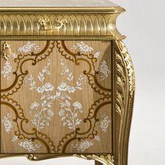 Madia in legno con ante a battente ALTIERI Collezione Palazzo by Rozzoni Mobili d'Arte