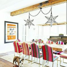Brooklyn Decker takes us on a tour of her Texas farmhouse and funky, super fun style, all the best celebrity home tours ahead! Brooklyn Decker is one of those unfortunate humans who seems talented … Brooklyn Decker, Sweet Home, Austin Homes, Austin Texas, Texas Homes, Pretty Room, The Design Files, Home Trends, Dining Room Design