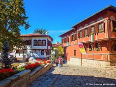The old town in Plovdiv, Bulgaria by Tedi  Ivanova on 500px