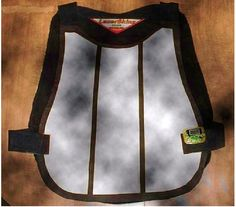 Paintball score-tracking vest. Awesome idea!!!