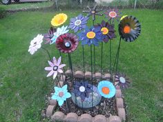 Fused glass garden!