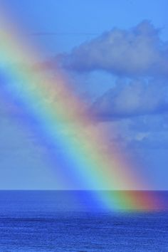 Rainbow into the Pacific - Guam