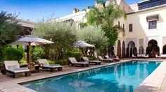 La Villa des Orangers en Marrakech | Splendia - http://pinterest.com/splendia/
