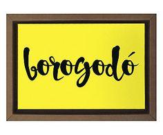 Gravura Digital Borogodo - 35x25cm
