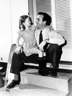 Natalie Wood and John Payne in Miracle on 34th Street