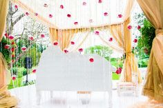 Mandap, chuppah, indian wedding decor, wedding design, wedding planning, south asian bride
