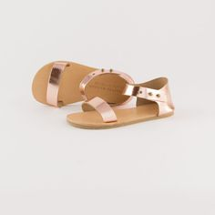 tiny leather sandals