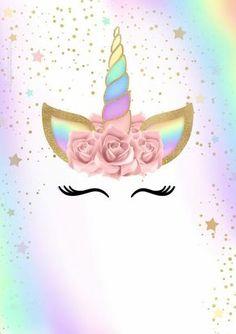 Resultado de imagen para tarjetas de unicornio para imprimir
