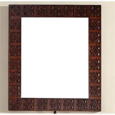 """Check out the James Martin Furniture 170-M37-ANB Monterey 37"""" Mirror in Antique Brandy priced at $399.00 at Homeclick.com."""