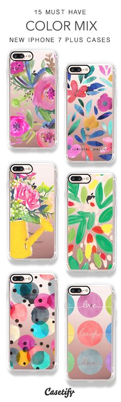 Colors make you happy! 15 Must Have Color Mix iPhone 7 Cases & iPhone 7 Plus Cases here > https://www.casetify.com/artworks/w10w4C0EQC