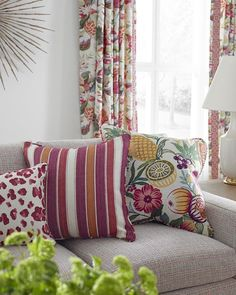 The new Les Tropiques collection is bold, fresh and colorfully exotic. Browse more at Brunschwig.com.