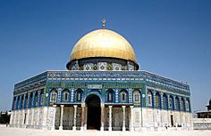 """Dome of the Rock, sacred sight of Islam. Jerusalem is known in Arabic as Al-Quds or Baitul-Maqdis,""""The Noble, Sacred Place"""". Dome Of The Rock, After All These Years, Temple, Islamic World, Islamic Architecture, I Want To Travel, Place Of Worship, What A Wonderful World, Great Memories"""