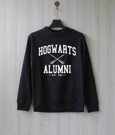 Hogwarts Alumni Harry Potter Shirt Sweatshirt Sweater by SaBuy Objet Harry Potter, Mode Harry Potter, Harry Potter Items, Harry Potter Merchandise, Harry Potter Shirts, Harry Potter Style, Harry Potter Outfits, Harry Potter Backpack, Hogwarts Alumni