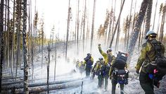 """Alaska's Intense Wildfire Seasons Could Be Felt Worldwide - Between 1950 and 1989, said Rudd, eight Alaska fire seasons surpassed one million acres, with only two of reaching or surpassing three million acres.  By contrast, """"from 1990 up through and including this year, we've had 11 years where we've burned more than a million acres,"""" he said, """"and we've surpassed three million [acres] four times, and came within 50,000 acres in 2009 of being able to say we did that five times."""""""