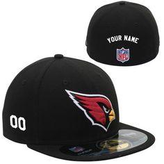 Arizona Cardinals 101 Holiday Gift Ideas: Men's New Era Arizona Cardinals Customized Onfield 59Fifty Football Structured Fitted Hat - NFLShop.com $44.99