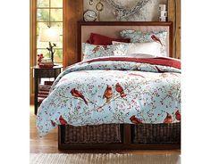 Birdie bed set! From casatreschic.blogspot.com.