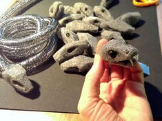 making foam medusa snakes - Google Search