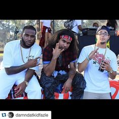 The finest in Hip Hop Right now! SMG @damndatkidfazle @juliannitram @devonwynn #Music #SupremeMusicGang #HipHop