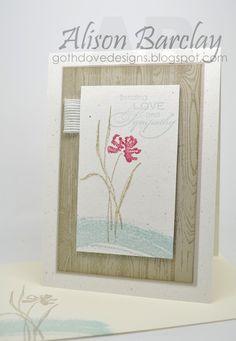 Gothdove Designs - Alison Barclay - Stampin' Up! Australia - Stampin' Up! Love & Sympathy - CCMC #348